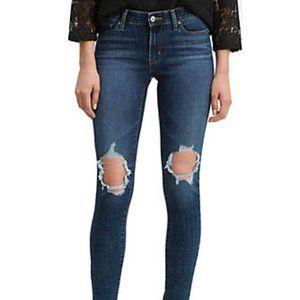 Levi's 711 NWT Skinny Maui Breeze Denim Jeans